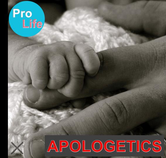 Pro Life Apologetics Featured Image